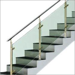 SS Handrail Glass