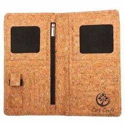 Cork Passport Folder