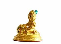 Makhan Bal Krishna - Gold Mounting