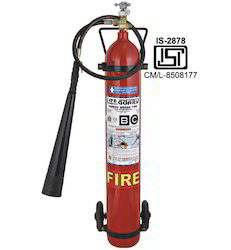 Trolley Mounted Fire Extinguisher 9KG