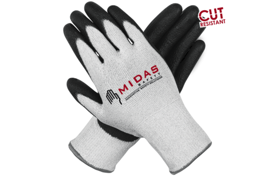 Composite Cut Resistant Safety Gloves - Midas Safety Private Limited