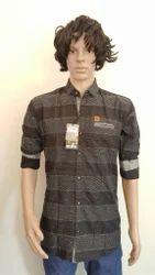 Men's Linen Printed Shirts, Size: 38 - 44