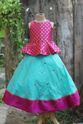 55e670782b72 Babies Pattu Pavadai, Rs 1700 /piece, Pavi Fashion And Creation   ID ...