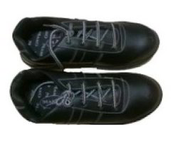 Aura Safety Shoes SS-1607 Size  9. Leather Safety Shoes dcbb41c60