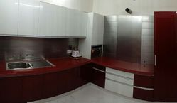 SS Polished, Painted Stainless Steel Modular Kitchen, Warranty: 1-5 Years