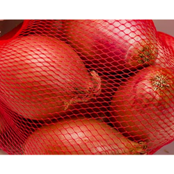 Chirantana Equipack Red Vegetables Packaging Net Bags, Bag Size (inches): 15 Inch And 21 Inch Length
