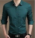 Cotton Party Wear Printed Shirt