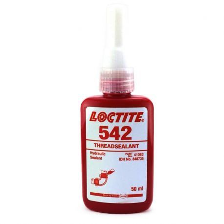Loctite 542 Threadsealant, Packaging Size: 50ml, Grade Standard: Chemical Grade