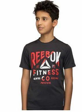 f3b6867a3517 Boys Reebok Training Fitness Graphic Tee
