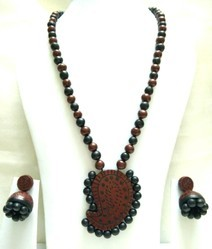 Designer Terracotta Necklace Set