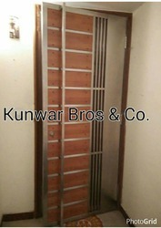 Wooden Stainless Steel Door