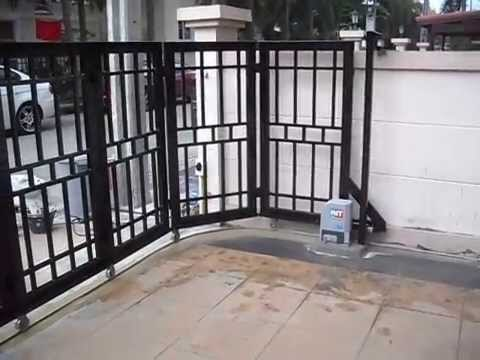Automatic Slide Folding Gates C4g Automation Private