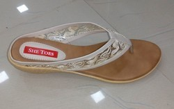 Ladies Fancy Chappals, Size: 6 To 11