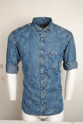 Designer Denim Shirt