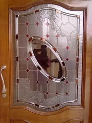 Decorative Door Stained Glass