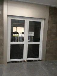 UPVC Frame Glass Door