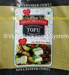 Printed Vacuum Pouches for Tofu and Paneer