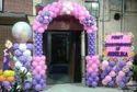 Birthday Balloon Gate Decoration Servive, Area / Size: 5000 Sqaure Feet