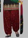 Unstitched Patiala Suit