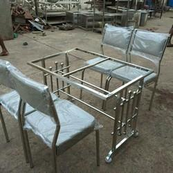 SS Hotel Dining Table with 4 chairs