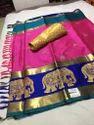 Silk Cotton Material Sarees