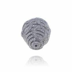 Diamond Spacer Bead