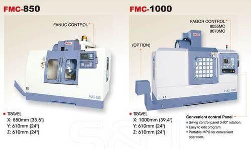 Tool Room Vmc Machine