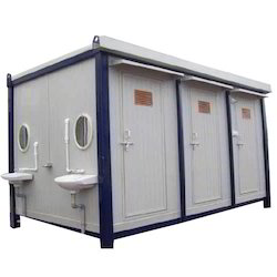 Steel, FRP PEB Toilet Blocks