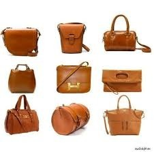 Tote Plain Leather Bags