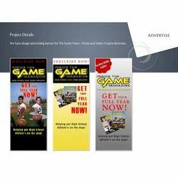 Paper Print Advertisement Design Service