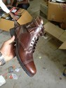 Branded Men's Leather Boots