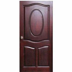 Brown Teak Wood Flush Door