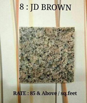 Jd Brown Granite At Rs 85 Square Feets Brown Granite Id
