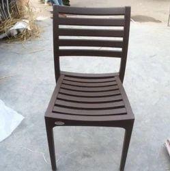 Bharat Furniture Designer Plastic High Back Chair, Size: S & L