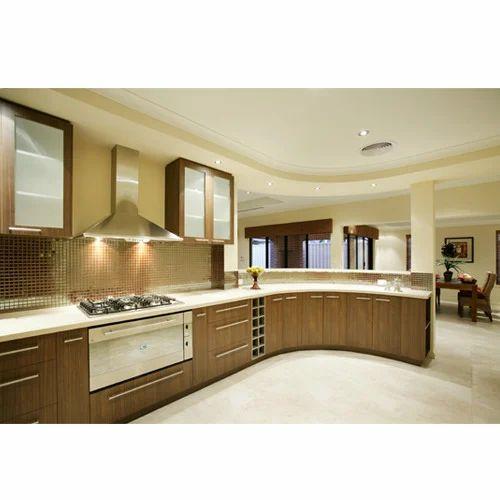 Wooden Modular Kitchen, Kitchen & Dining Furniture