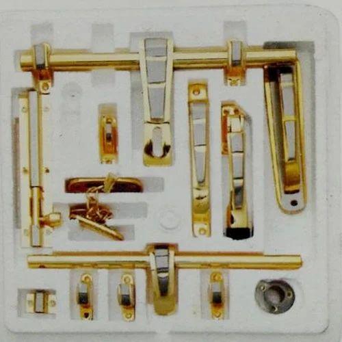 Fancy Brass Door Kit & Fancy Brass Door Kit Pital ???? - Aligarh Hardware Store ...