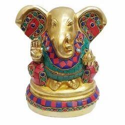 Brass K.K God Ganpati Statue