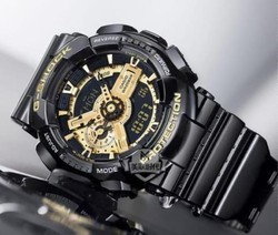 Casio G Shock Analog Digital Golden Dial Mens Watch