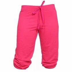 Stretchable Pink Ladies Capri