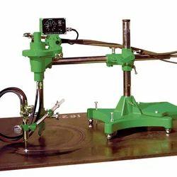 Semi-automated Oxy-fuel Circle Cutting Machine