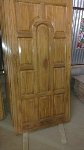 Burma Wood Door Main Door Or 1st Teak Wood At Rs 13000