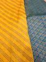 Designer Printed Brocade Fabric