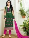 Georgette With Embroidery Suit