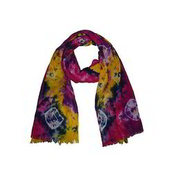 Cotton Hand Tie Dye Stole