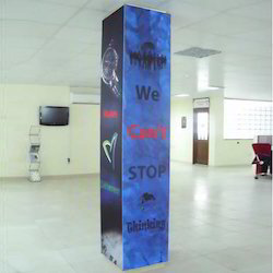 Show Room Pillar Graphics Service