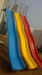 FRP Triple Wave Slide