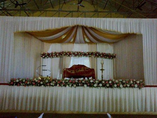 Christian Marriage Decoration व ड ग ड क र शन
