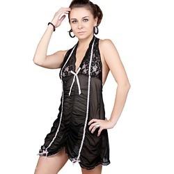 Transparent Nighty Frock Nightwear 501