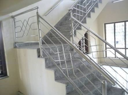 Silver Stainless Steel SS Railing, Rs 770 /feet ...