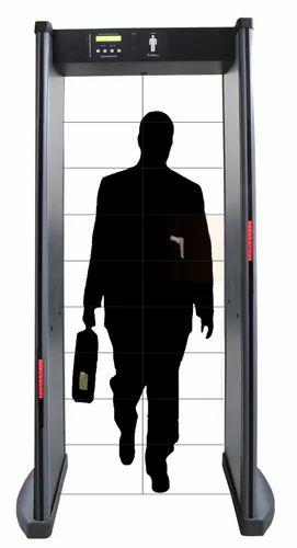 Walk Through Metal Detector 18 Zone वॉक थ्रू मेटल